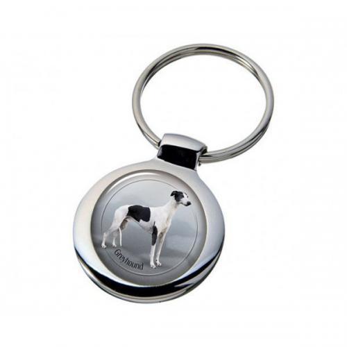 Nyckelring med Greyhound