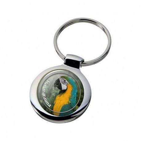 Nyckelring med Papegoja