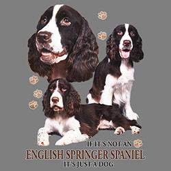 Tygkasse med Engelsk Springer Spaniel