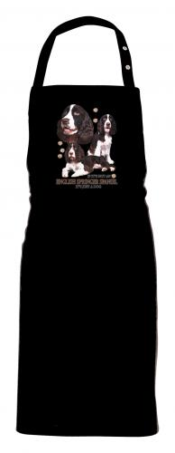 Grillförkläde med Engelsk Springer Spaniel