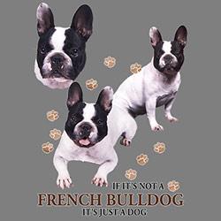 Luvtröja med Fransk Bulldogg