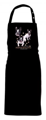 Grillförkläde med Fransk Bulldog