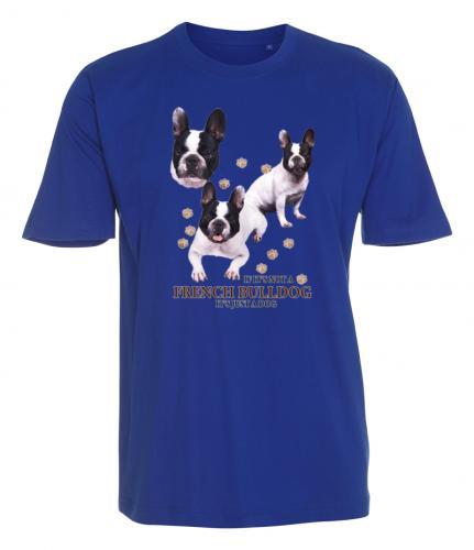 T-shirt med Fransk Bulldogg