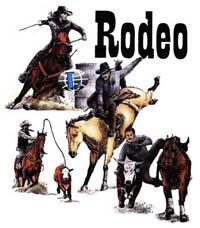 T-shirt med hästmotiv