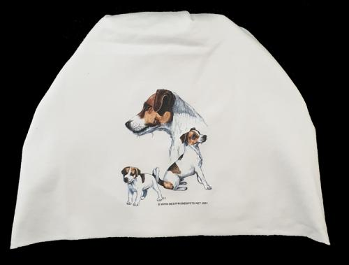 Mössa med Jack Russel Terrier