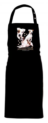Grillförkläde med Jack Russel Terrier