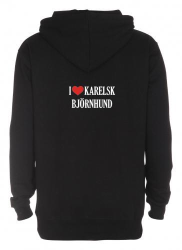 "Huvjacka ""I Love"" Karelsk Björnhund"