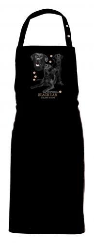 Grillförkläde med Labrador