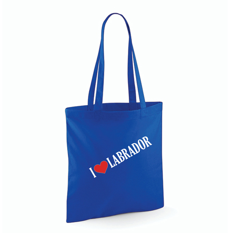 "Strandkasse ""I Love"" Labrador"