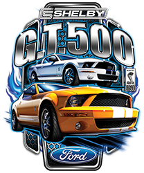 T-shirt Shelby G.T. 500