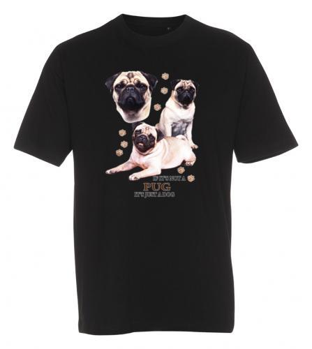 T-shirt med Mops