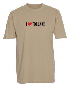 "T-shirt ""I Love"" Tollare"