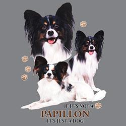 Figursydd t-shirt med Papillon