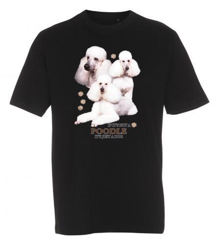 T-shirt med Pudel