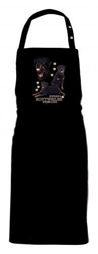 Grillförkläde med Rottweiler