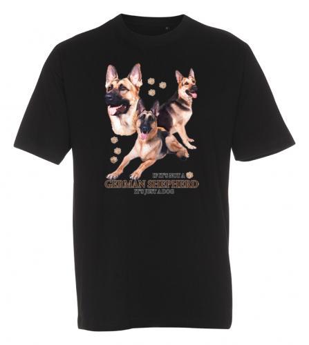 T-shirt med Schäfer