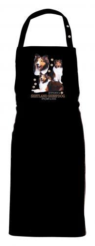 Grillförkläde med Shetland Sheepdog