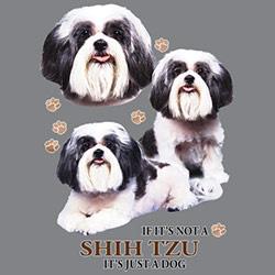 Huvjacka med Shih Tzu