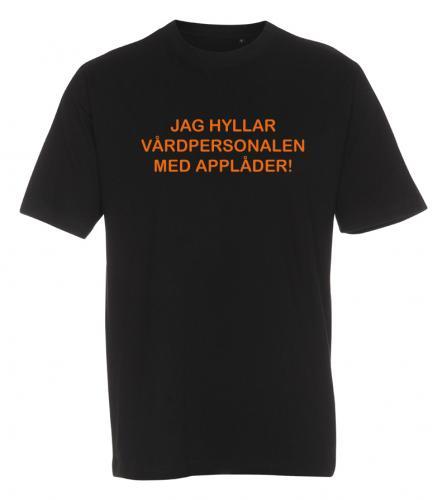 T-shirt hylla vården