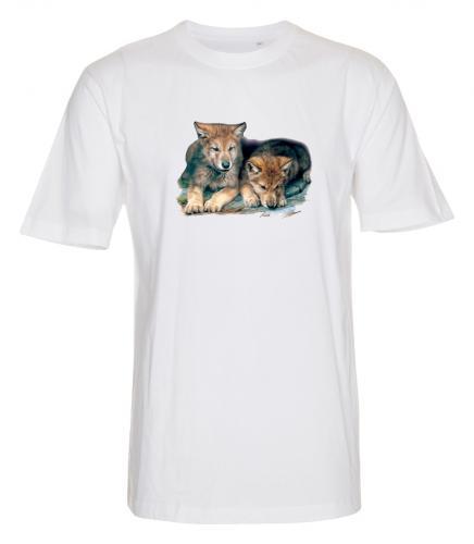 T-shirt i barnstorlek med Vargmotiv