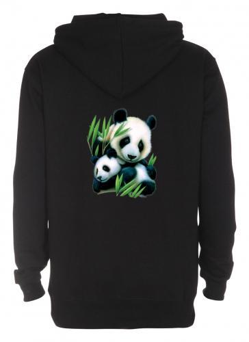 Huvjacka med Pandamotiv