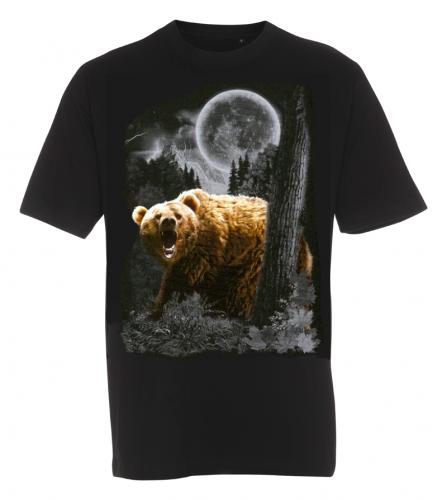 T-shirt med Björnmotiv