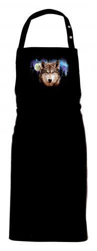 Grillförkläde  med Vargmotiv