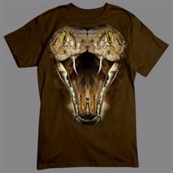 T-shirt med Kobra