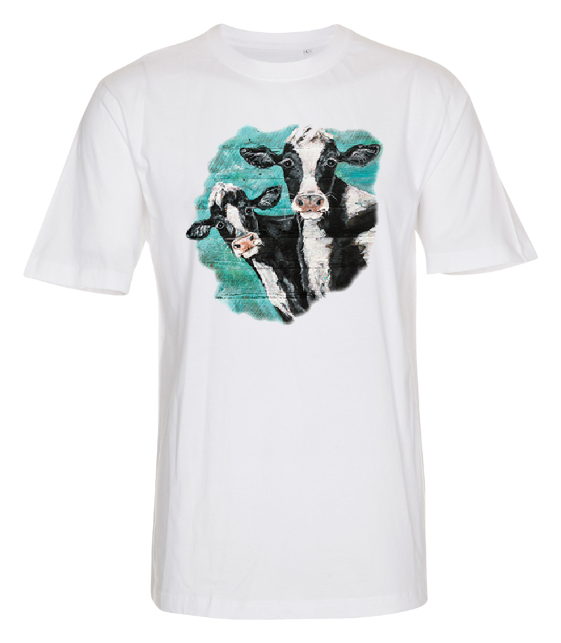 T-shirt med Kor