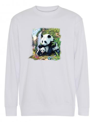 Collegetröja med Panda