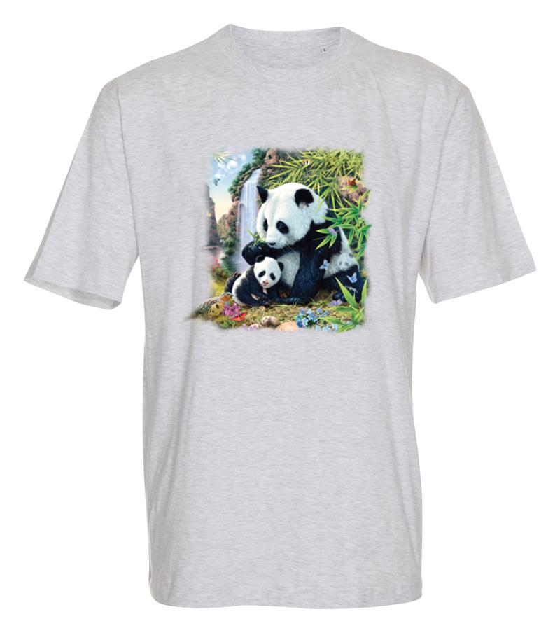 T-shirt med Panda