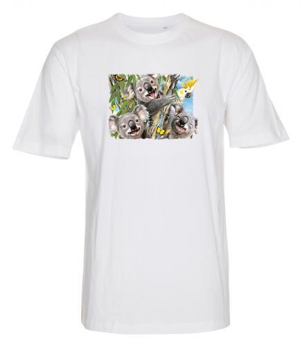 T-shirt med Koalor