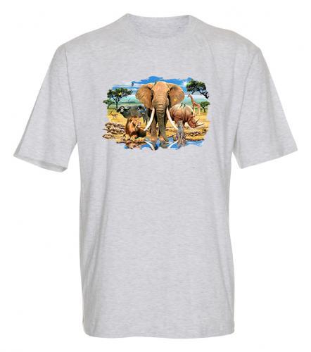 T-shirt med Vilda djur