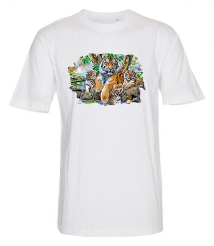 T-shirt i barnstorlek med Tigrar
