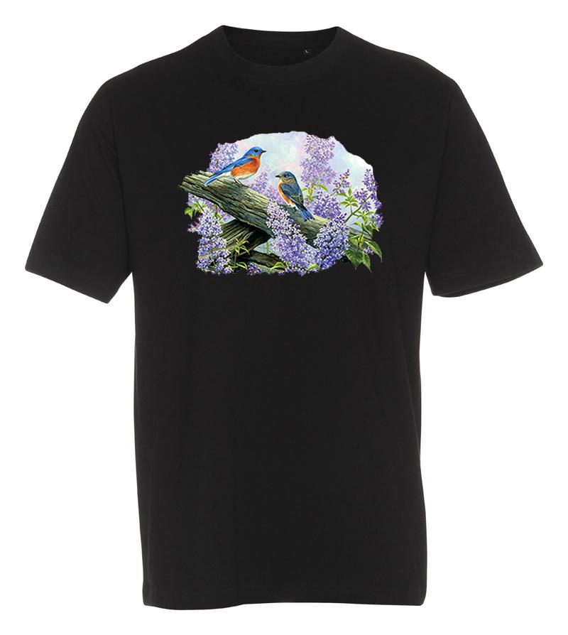 T-shirt med Fåglar