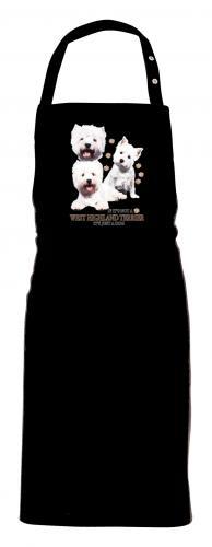 Grillförkläde med West Highland White Terrier