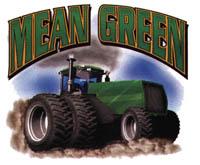 T-shirt med traktormotiv