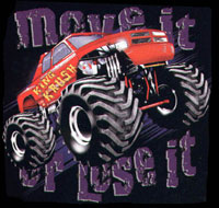 T-shirt i barnstorlek med jeepmotiv