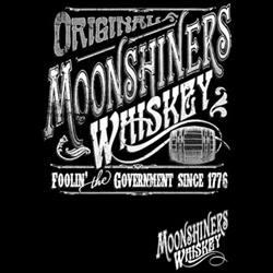 T-shirt med ett Moonshinemotiv