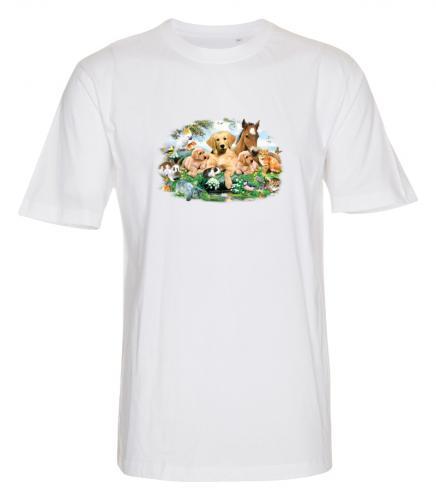 T-shirt i barnstorlek med ett djurmotiv