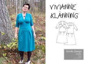 Vivianne klänning - AnnAn Design