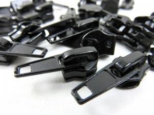 207-1 Löpare svart till blixtlås metervara art 207 (2:a sort)
