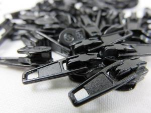 208 Zipper Slider black for Continuous Zipper 208 and D201