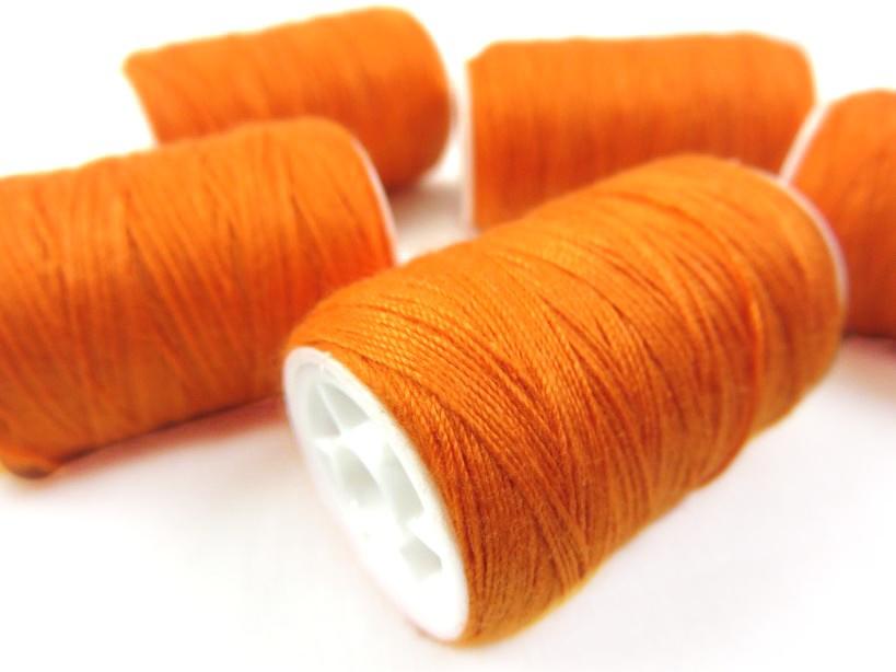 C216 Jeanstråd 100 m orange