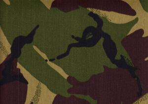Cotton Twill Camouflage green/brown