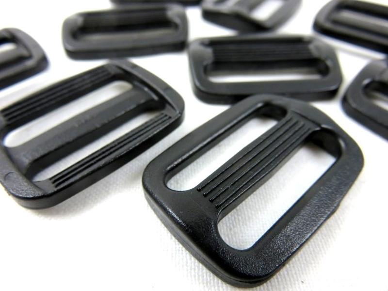 Spännare 25 mm svart