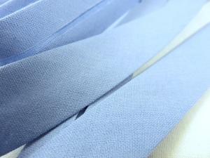 B299 Snedslå bomull 20 mm blå (20 m)