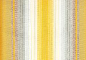 Awning Fabric stripe yellow/grey/white