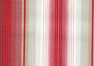Awning Fabric stripe red/grey/white