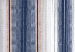 Awning Fabric stripe blue/grey/white